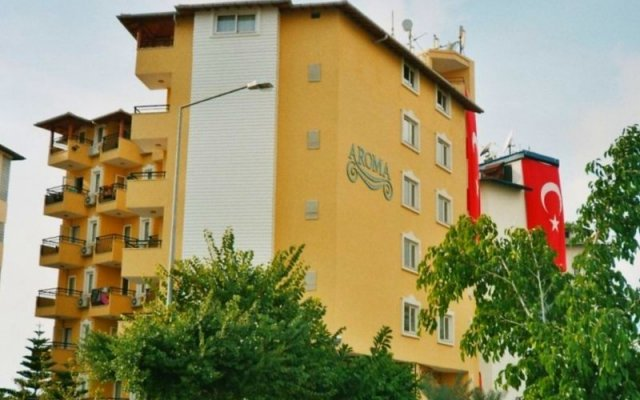 Aroma Hotel вид на фасад