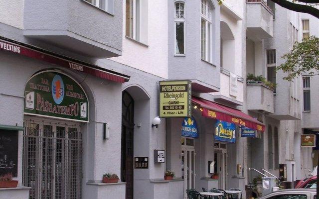 Hotel Pension Rheingold вид на фасад