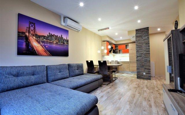 Отель Corvin Promenade Aparthotel комната для гостей