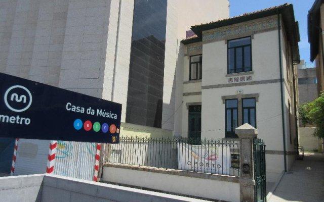 Oporto Music Hostel вид на фасад
