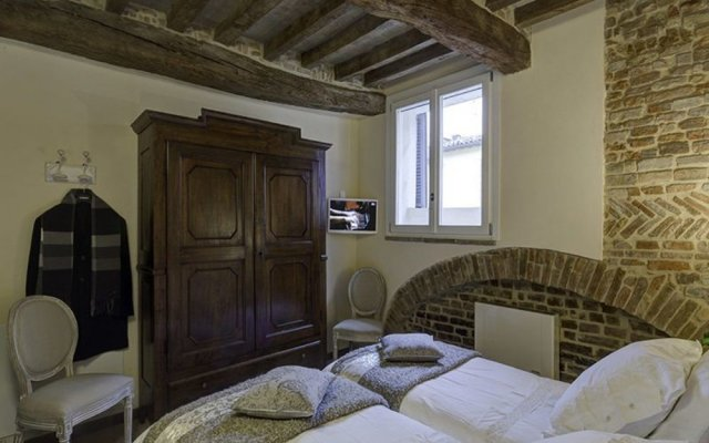 Отель Le Stanze di Rigoletto Парма комната для гостей