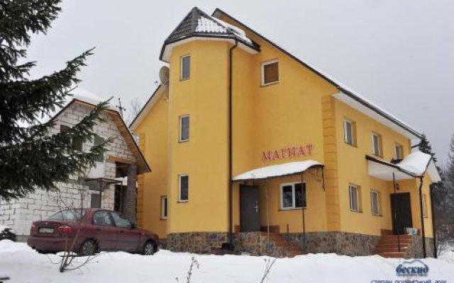 Отель Guest House Magnat Волосянка вид на фасад