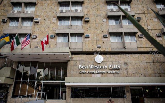 Отель Best Western Plus Gran Hotel Centro Historico Мексика, Гвадалахара - отзывы, цены и фото номеров - забронировать отель Best Western Plus Gran Hotel Centro Historico онлайн вид на фасад