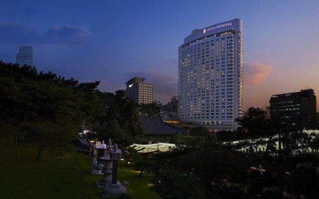 Отель InterContinental Seoul COEX Южная Корея, Сеул - отзывы, цены и фото номеров - забронировать отель InterContinental Seoul COEX онлайн вид на фасад