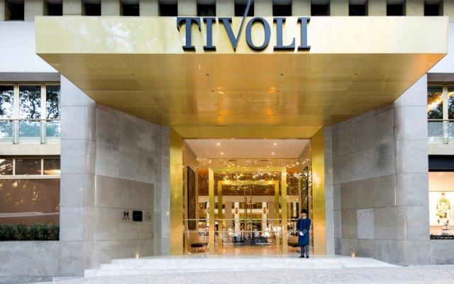 Tivoli Lisboa Hotel вид на фасад