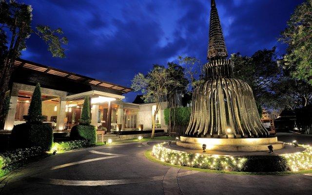 Отель Malisa Villa Suites пляж Ката вид на фасад