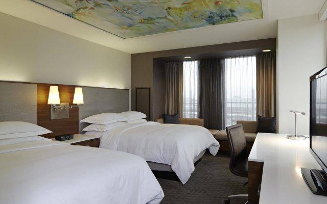 Отель Hilton Columbus Downtown США, Колумбус - отзывы, цены и фото номеров - забронировать отель Hilton Columbus Downtown онлайн комната для гостей