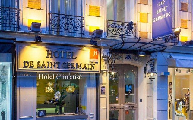 Hotel de Saint-Germain вид на фасад
