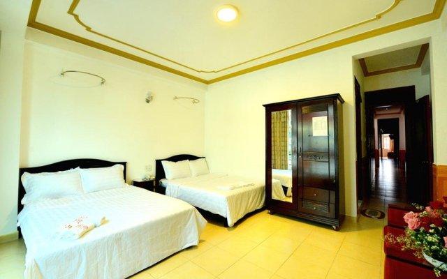 Soho Hotel Dalat Далат комната для гостей