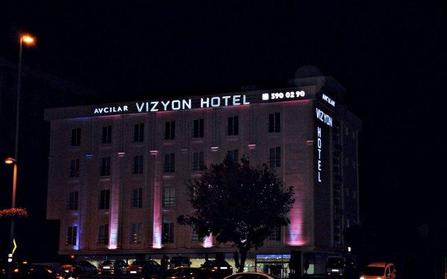 Avcilar Vizyon Hotel вид на фасад