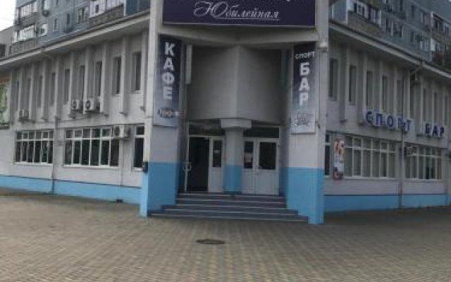 Отель Gostinitsa Yubileynaya Тихорецк вид на фасад