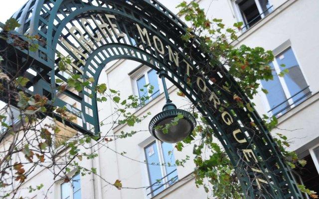 Отель 01 - Best Loft Montorgueil Paris вид на фасад