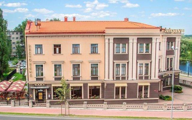 Hotel Jelgava вид на фасад