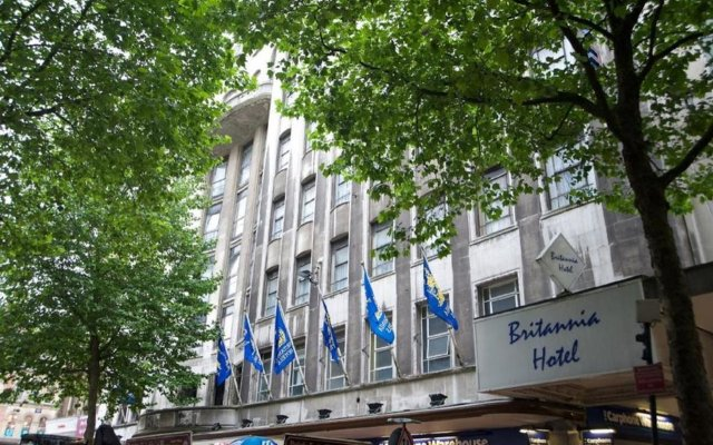 The Britannia Hotel Birmingham Бирмингем вид на фасад