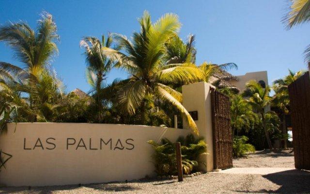 Отель Las Palmas Beachfront Villas Мексика, Коакоюл - отзывы, цены и фото номеров - забронировать отель Las Palmas Beachfront Villas онлайн вид на фасад