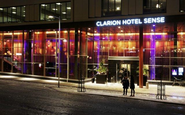 Clarion Hotel Sense вид на фасад