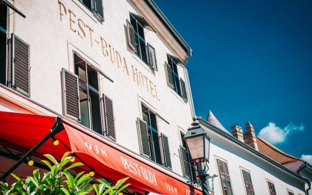Pest-Buda Hotel - Design & Boutique вид на фасад