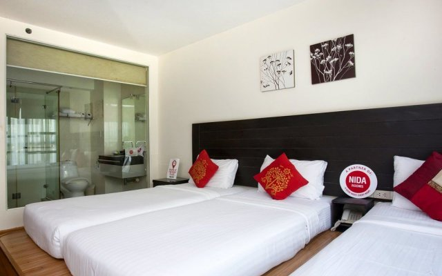 Отель Nida Rooms Nana Le Metro Sukhumvit Soi 4 At Boss Suites Nana Бангкок вид на фасад