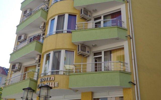 Отель Sun Болгария, Бургас - отзывы, цены и фото номеров - забронировать отель Sun онлайн вид на фасад