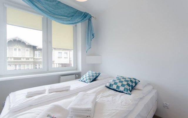 Апартаменты Dom & House - Apartments Pulaskiego Sopot комната для гостей