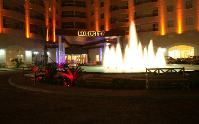 Goldcity Hotel - All Inclusive вид на фасад