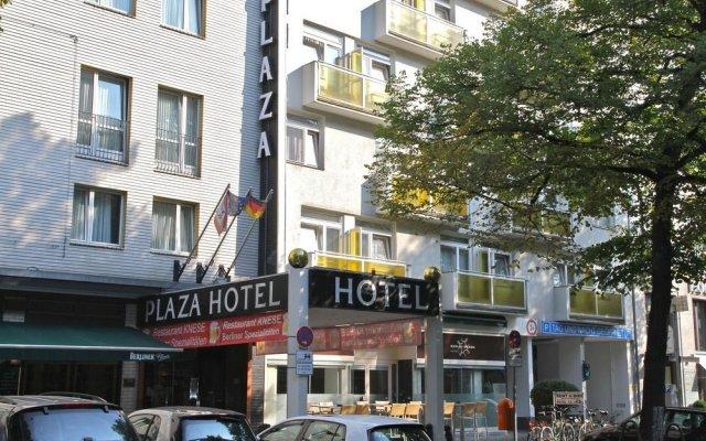 Berlin Plaza Hotel am Kurfurstendamm Берлин вид на фасад