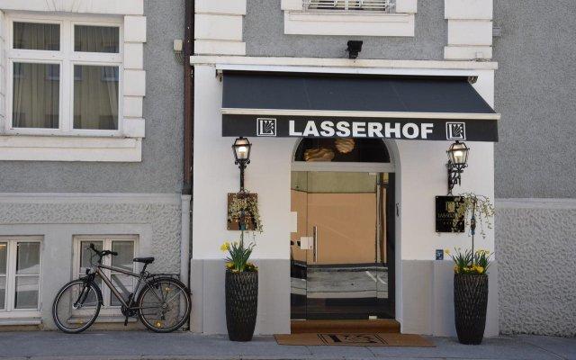 Отель Lasserhof Salzburg Австрия, Зальцбург - 5 отзывов об отеле, цены и фото номеров - забронировать отель Lasserhof Salzburg онлайн вид на фасад
