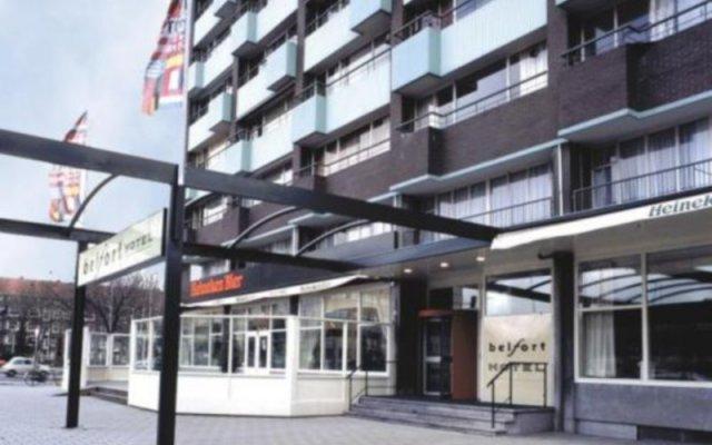 Отель Belfort Hotel Нидерланды, Амстердам - 8 отзывов об отеле, цены и фото номеров - забронировать отель Belfort Hotel онлайн вид на фасад