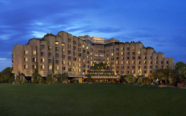 Отель ITC Maurya, a Luxury Collection Hotel, New Delhi Индия, Нью-Дели - отзывы, цены и фото номеров - забронировать отель ITC Maurya, a Luxury Collection Hotel, New Delhi онлайн вид на фасад