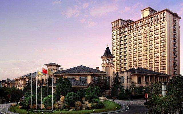 Отель Chateau Star River Pudong Shanghai Китай, Шанхай - отзывы, цены и фото номеров - забронировать отель Chateau Star River Pudong Shanghai онлайн вид на фасад