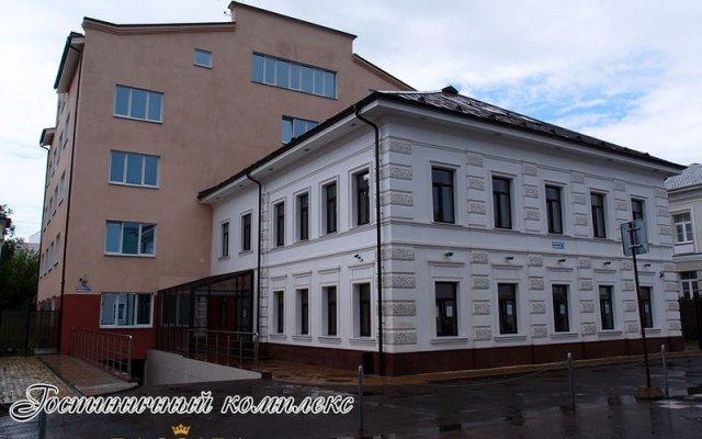 Отель Баккара Ярославль вид на фасад