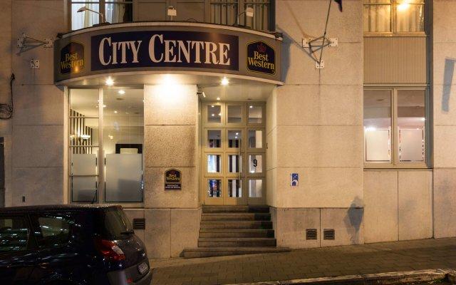 Отель Best Western City Centre Брюссель вид на фасад