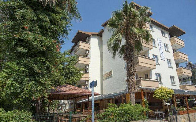 Отель Damlatas Elegant Аланья вид на фасад
