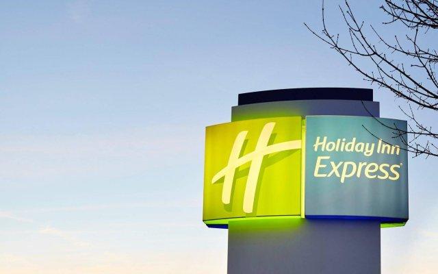 Отель Holiday Inn Express Duesseldorf City Nord Германия, Дюссельдорф - 12 отзывов об отеле, цены и фото номеров - забронировать отель Holiday Inn Express Duesseldorf City Nord онлайн вид на фасад