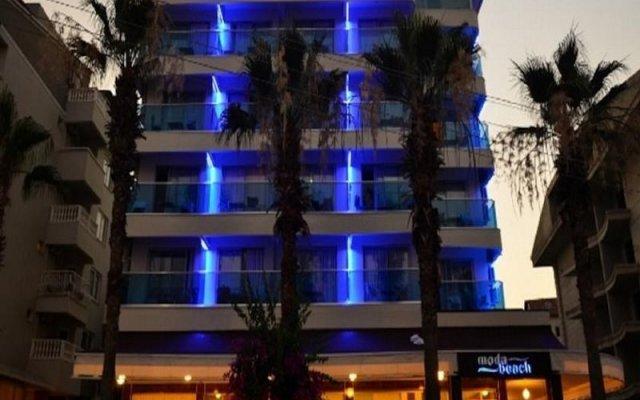 Moda Beach Hotel Турция, Мармарис - отзывы, цены и фото номеров - забронировать отель Moda Beach Hotel онлайн вид на фасад