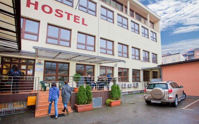 Hostel Bureau вид на фасад