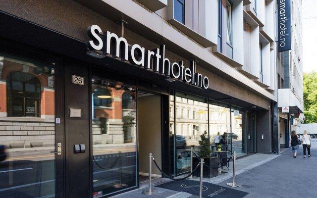 Отель Smarthotel Oslo Норвегия, Осло - 1 отзыв об отеле, цены и фото номеров - забронировать отель Smarthotel Oslo онлайн вид на фасад