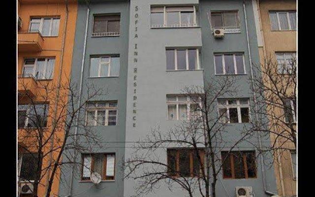 Апартаменты Sofia Inn Apartments Residence вид на фасад