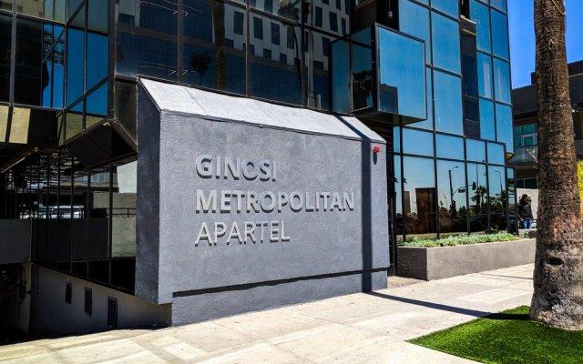 Отель Ginosi Metropolitan Apartel США, Лос-Анджелес - отзывы, цены и фото номеров - забронировать отель Ginosi Metropolitan Apartel онлайн вид на фасад