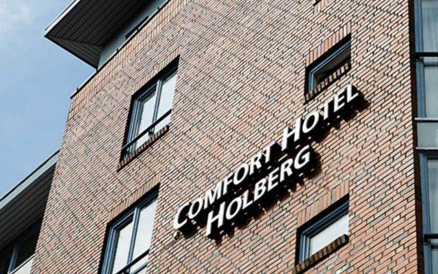 Comfort Hotel Holberg вид на фасад