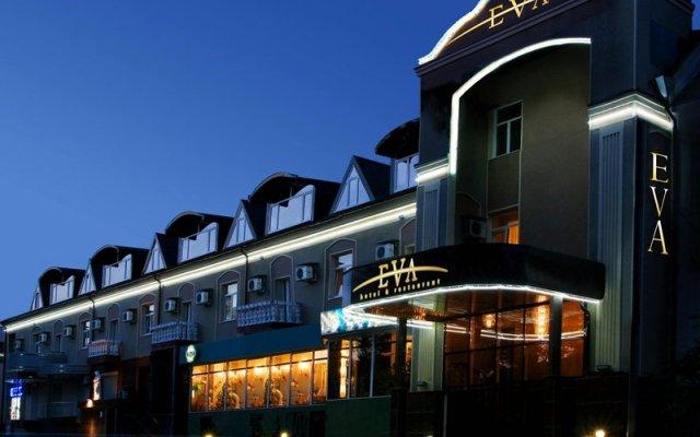 Ева Отель Донецк вид на фасад