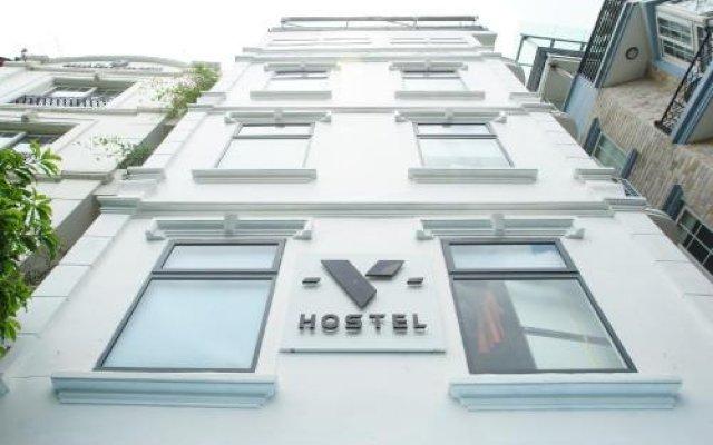 V Hostel Ханой вид на фасад
