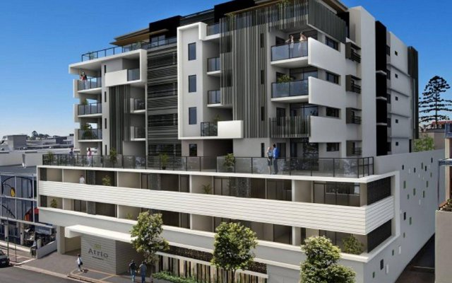 Апартаменты Atrio Apartments вид на фасад