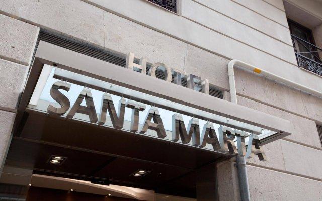Hotel Santa Marta вид на фасад