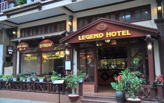 Отель Legend Hotel Sapa Вьетнам, Шапа - отзывы, цены и фото номеров - забронировать отель Legend Hotel Sapa онлайн вид на фасад