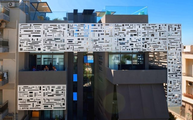 Апартаменты Athina Art Apartments вид на фасад