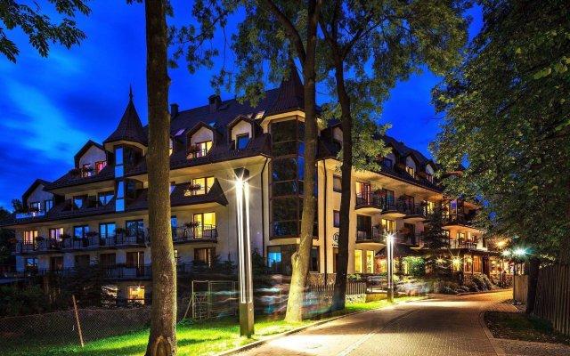 Отель Litwor Польша, Закопане - отзывы, цены и фото номеров - забронировать отель Litwor онлайн вид на фасад