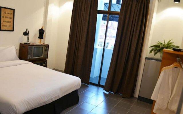 Chicroom Phuket Town Hotel комната для гостей