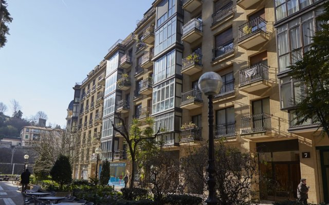 Апартаменты Zurriola Jazz Apartment by FeelFree Rentals вид на фасад