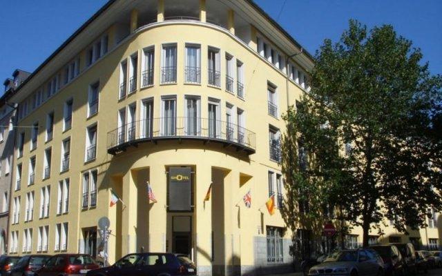 Отель Ghotel And Living Munchen-Zentrum Германия, Мюнхен - 1 отзыв об отеле, цены и фото номеров - забронировать отель Ghotel And Living Munchen-Zentrum онлайн вид на фасад